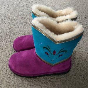 Disney UGG Australia Frozen Elsa Coronation Boot
